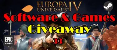 Giveaway! 100% FREE to Get Europa Universalis IV, STAR WARS™: Squadrons, Ghostrunner, Alien: Isolation, Video and PDF Tools.