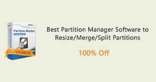 Giveaway! 100% FREE to get EaseUS Partition Master [Expired]