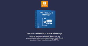 Giveaway - PassFab iOS Password Manager (1 month license) for Windows&Mac