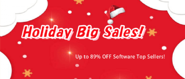 [Holiday Big Sales!] - Up to 89% OFF Software Top Sellers!