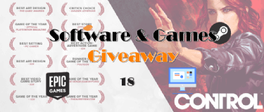 Giveaway! 100% FREE to Get Control, Tell Me Why, Allavsoft, PDF Password Remover and more!