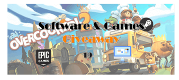 Giveaway! 100% FREE to Get Overcooked! 2 AOMEI Partition Assistant, AOMEI Backupper, and AceThinker Screen Grabber for Summer!