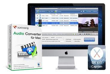 AnyMP4 Audio Convertisseur pour Mac Discount Coupon