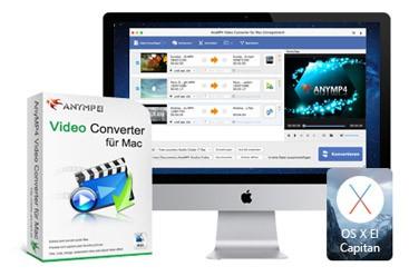 AnyMP4 Video Converter für Mac Discount Coupon