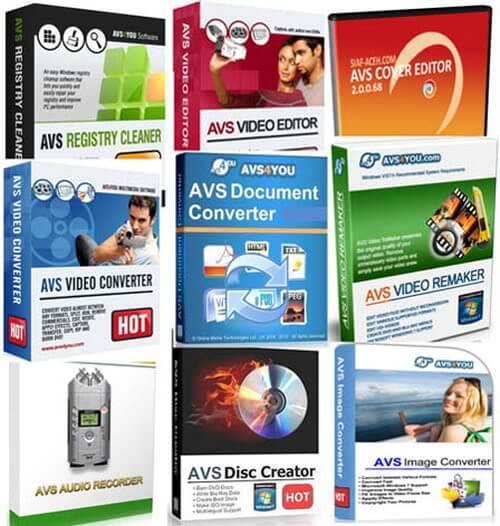 AVS4YOU Multimedia Suite