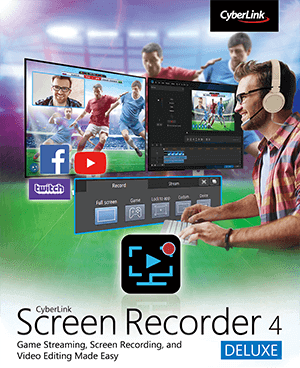 CyberLink Screen Recorder Code coupon de réduction