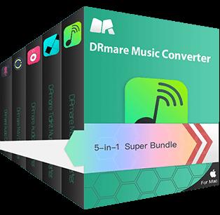 DRmare 5-in-1 Super Bundle