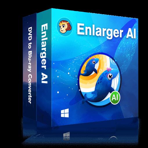DVDFab Enlarger AI + DVD to Blu-ray converter