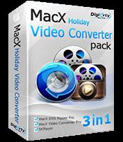 MacX Holiday Video Converter Pack Code coupon de réduction