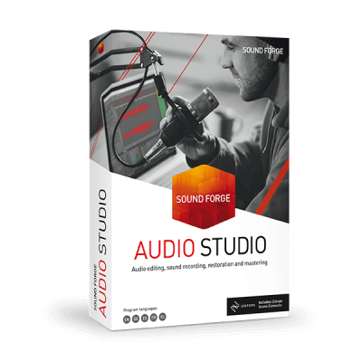 SOUND FORGE Audio Studio promo code