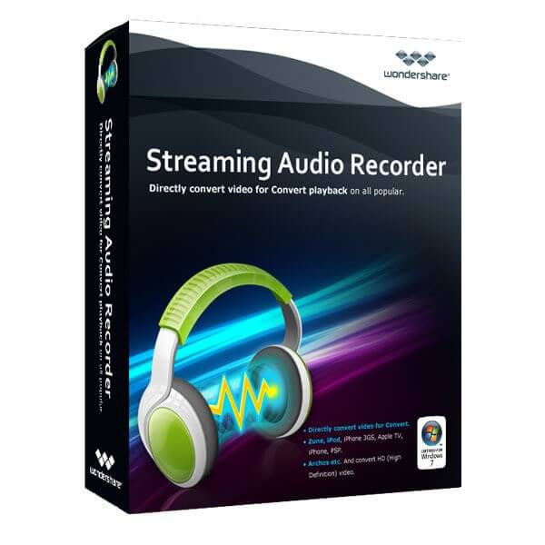 Wondershare Streaming Audio Recorder promo code