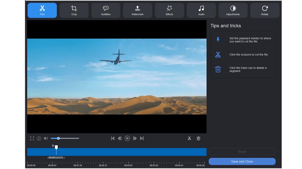 Aicoosoft Video Converter Bildschirmfoto