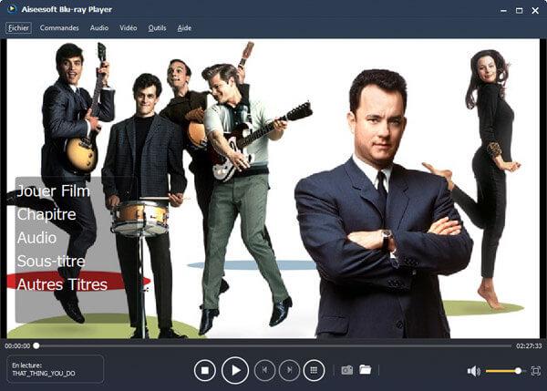 Aiseesoft Blu-ray Player Capture D'écran