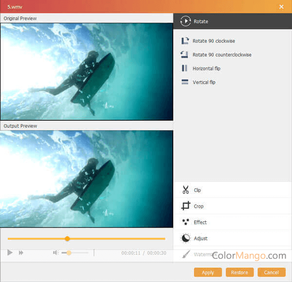 Aiseesoft Burnova Bildschirmfoto