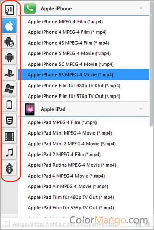 Any Video Converter Pro Bildschirmfoto