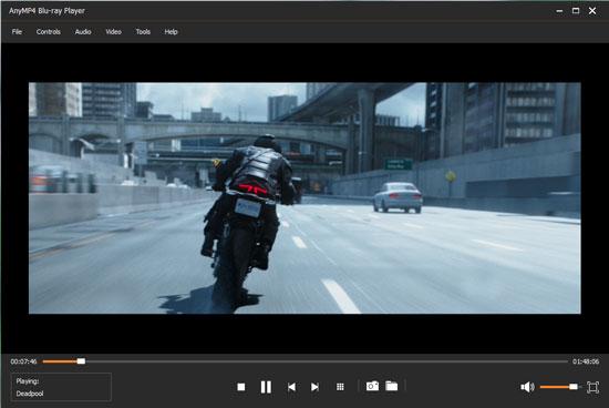 AnyMP4 Blu-ray Player Screenshot
