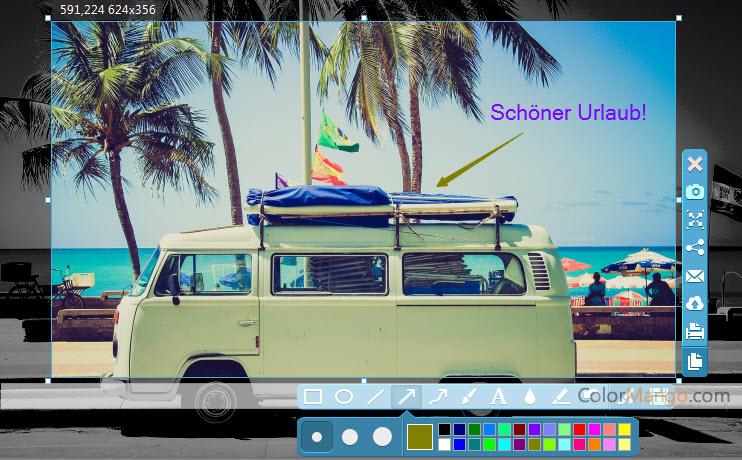 Apowersoft Screen Capture Pro Bildschirmfoto