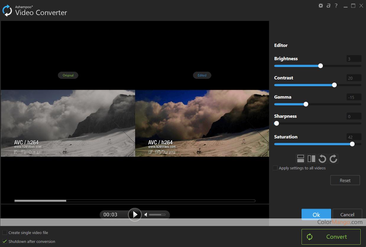 Ashampoo Video Converter Screenshot
