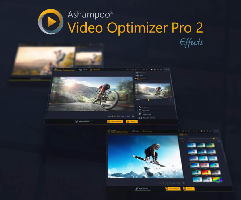 Ashampoo Video Optimizer Pro Screenshot