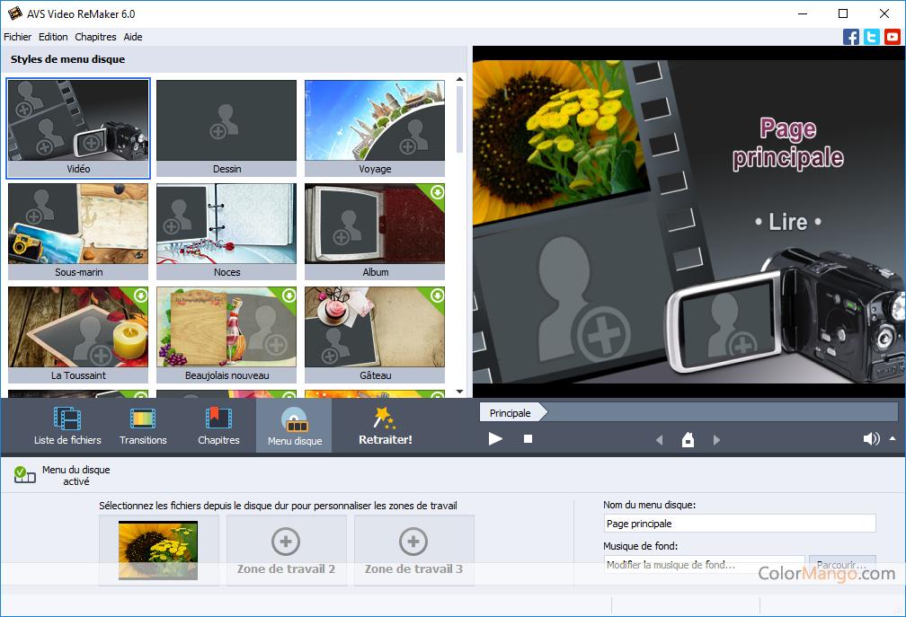 AVS Video ReMaker Capture D'écran