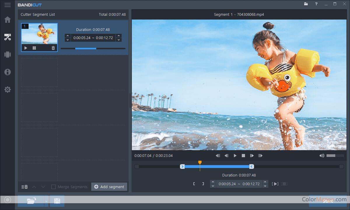 Bandicut Video Cutter Screenshot