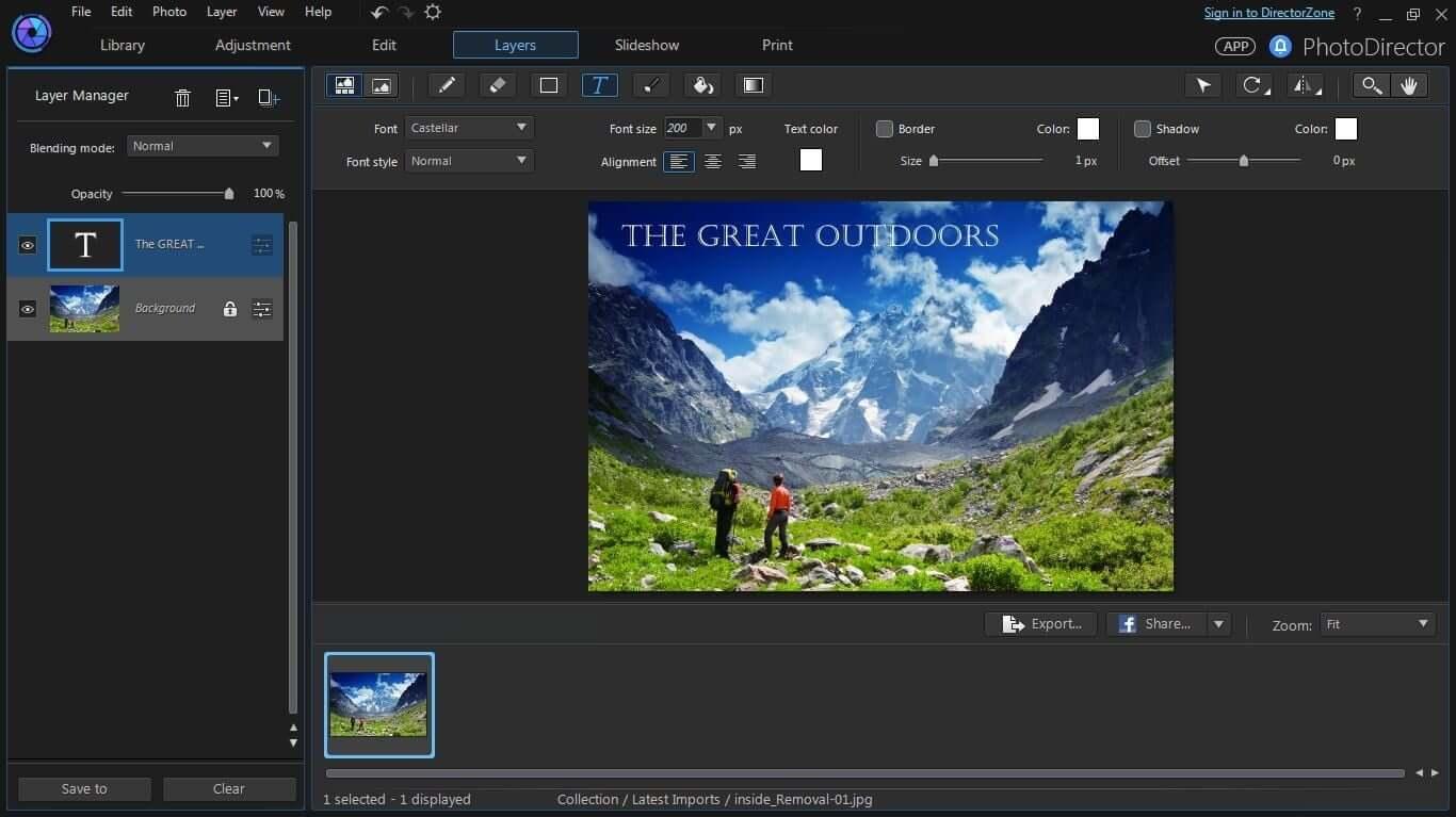 CyberLink Media Suite Capture D'écran
