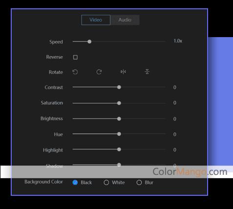 EaseUS Video Editor スクリーンショット