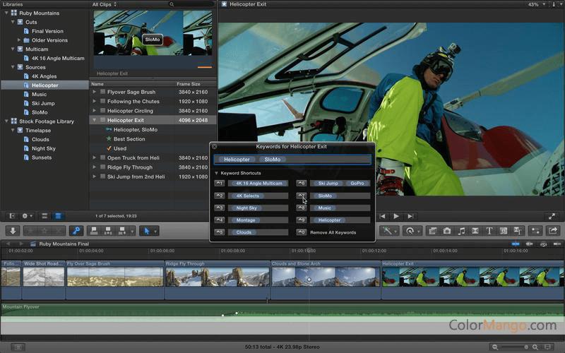how to screenshot final cut pro