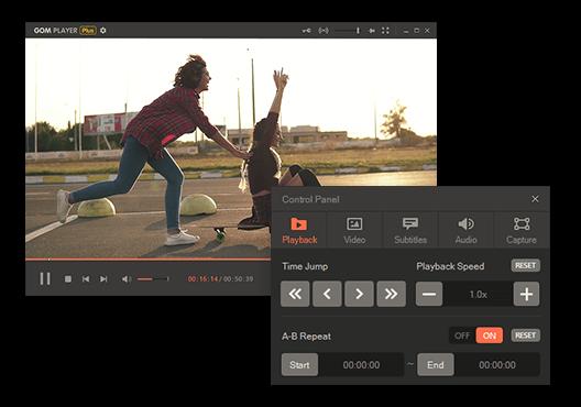 GOM Player Plus Capture D'écran