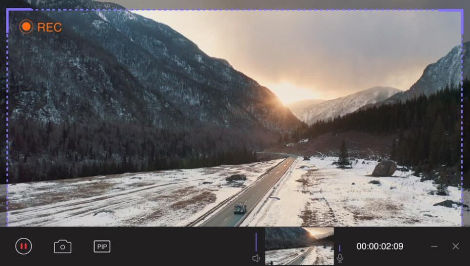 HitPaw Screen Recorder Screenshot