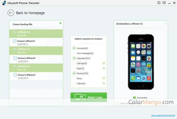iSkysoft Phone Transfer 40% Discount