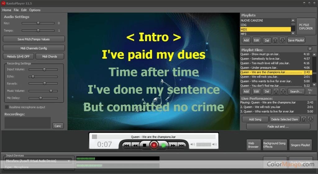Kanto Player Bildschirmfoto