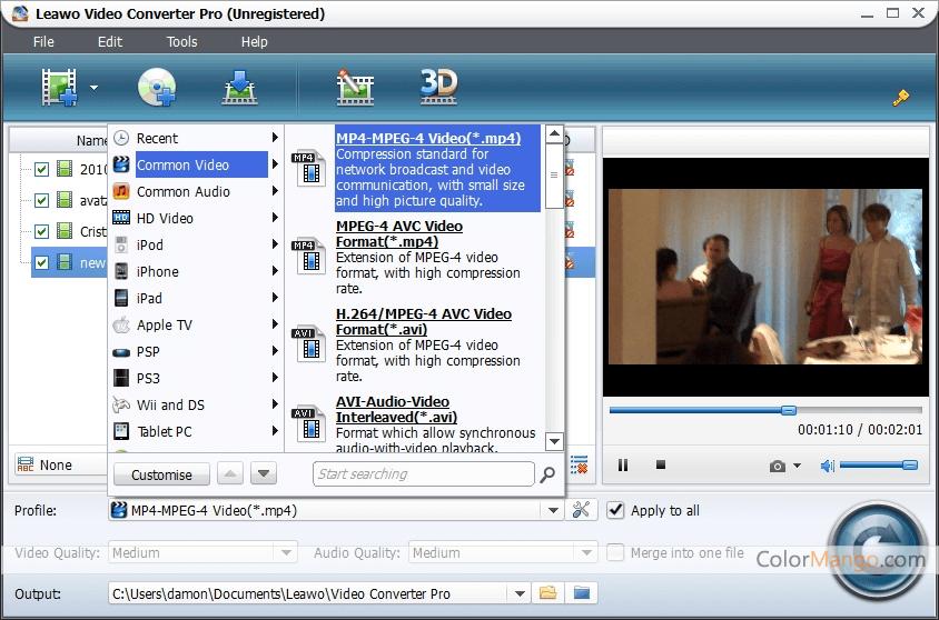 Leawo video converter registration code