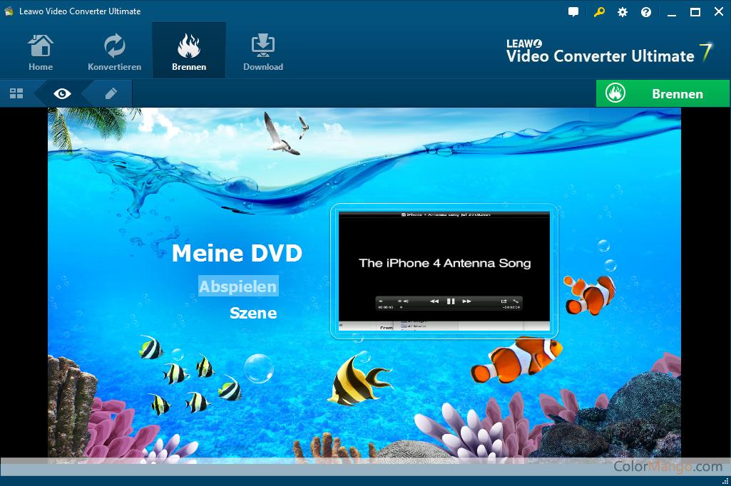 Leawo Video Converter Ultimate Bildschirmfoto