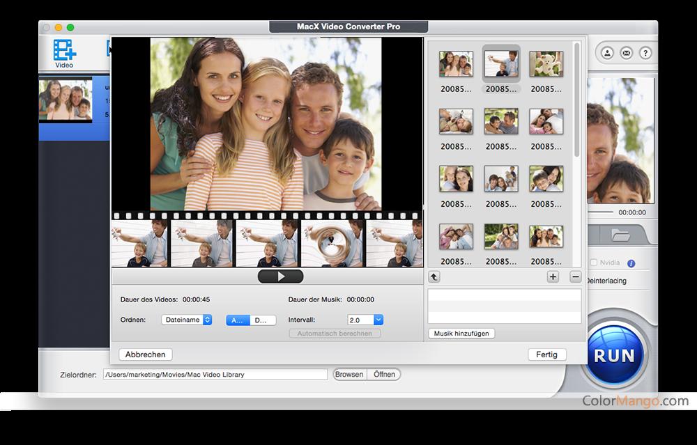 MacX Video Converter Pro Bildschirmfoto