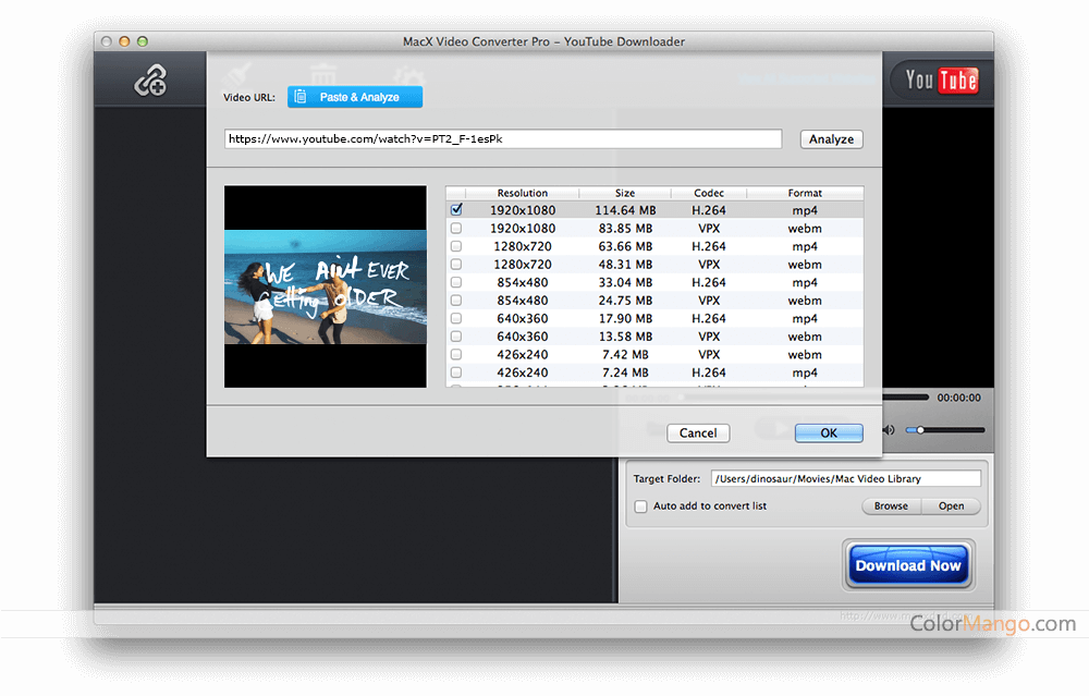 MacX Video Converter Pro Capturas de tela