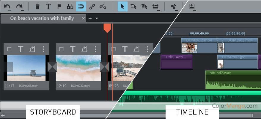 MAGIX Movie Edit Pro Premium Capture D'écran