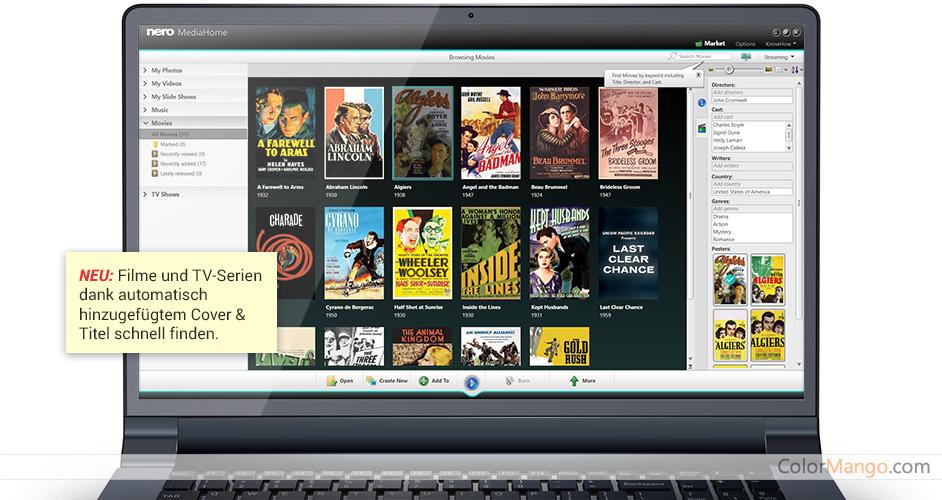 Nero Platinum Suite Bildschirmfoto
