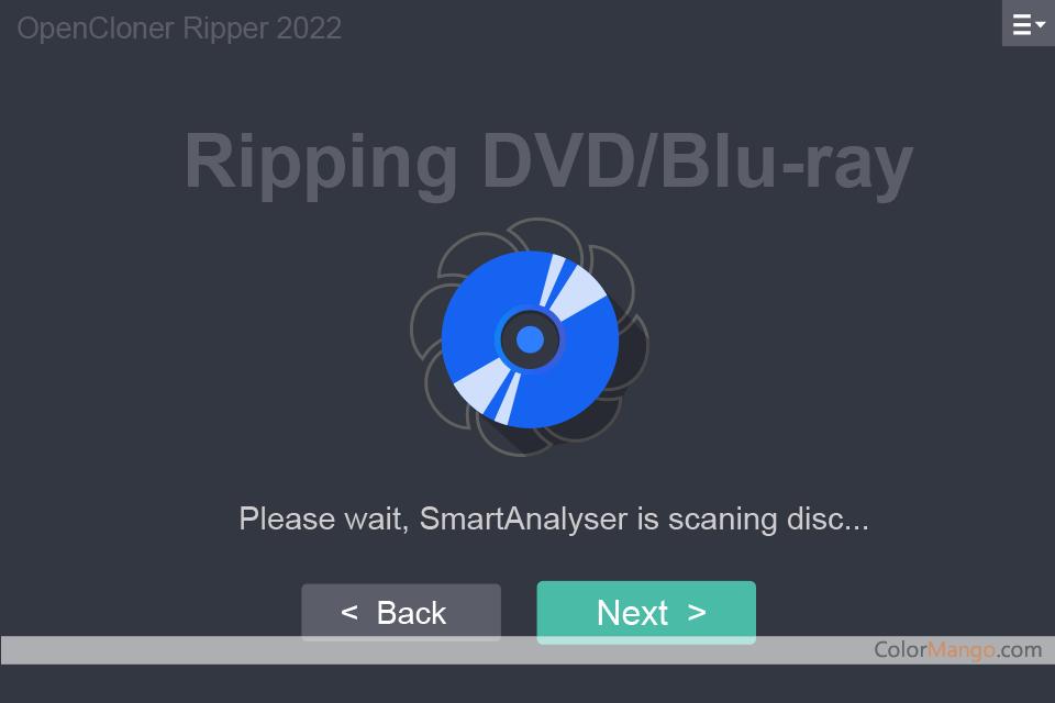 OpenCloner Ripper スクリーンショット