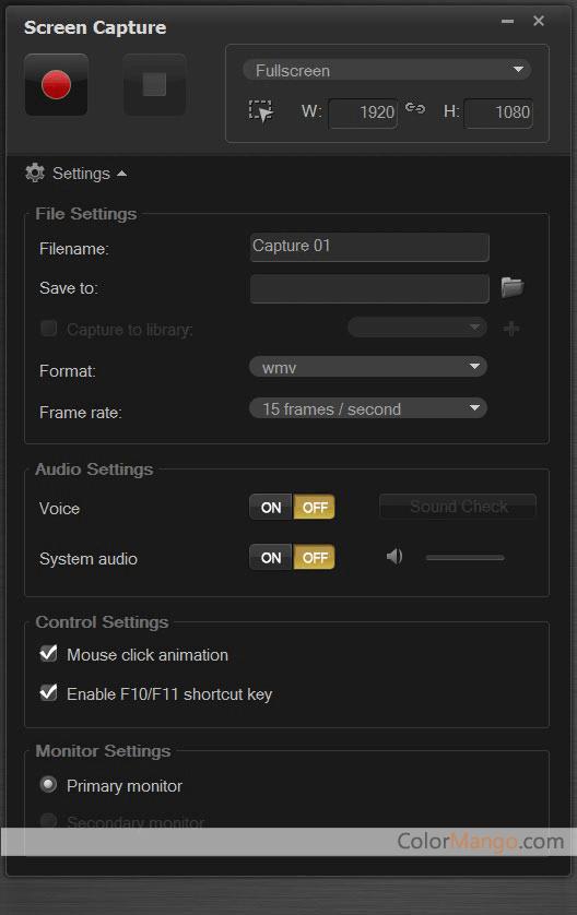 Roxio Creator NXT Pro Screenshot