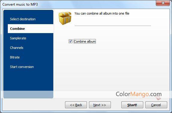 CoolUtils Total Audio Converter Screenshot