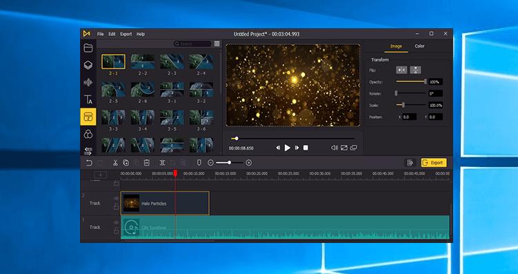 AceMovi Video Editor スクリーンショット