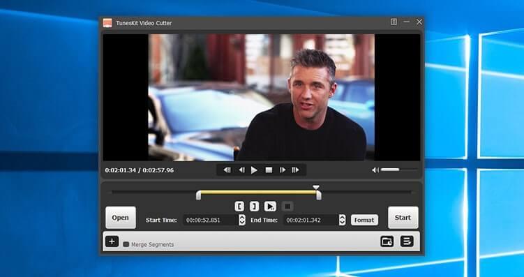 TunesKit Video Cutter Screenshot
