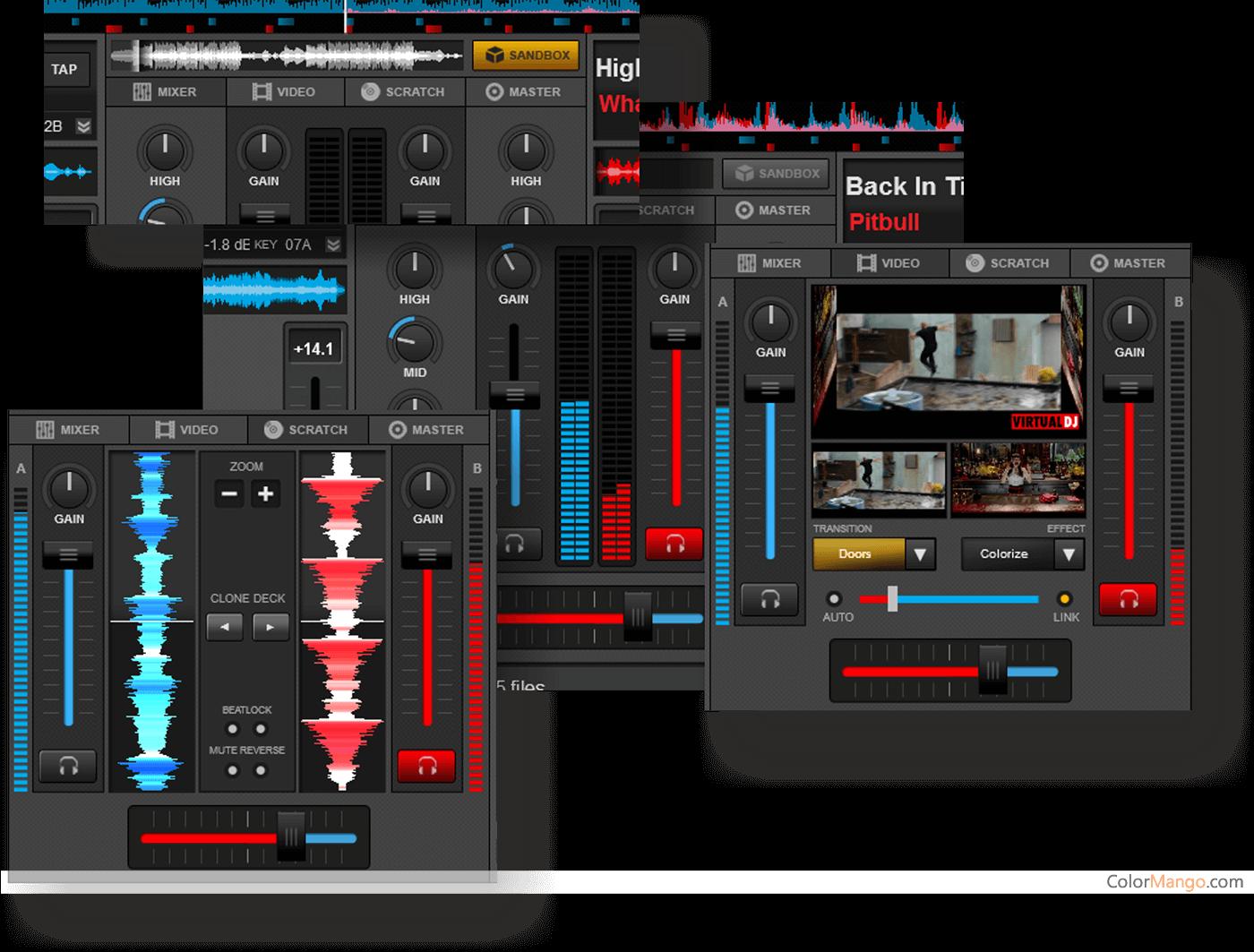 VirtualDJ スクリーンショット