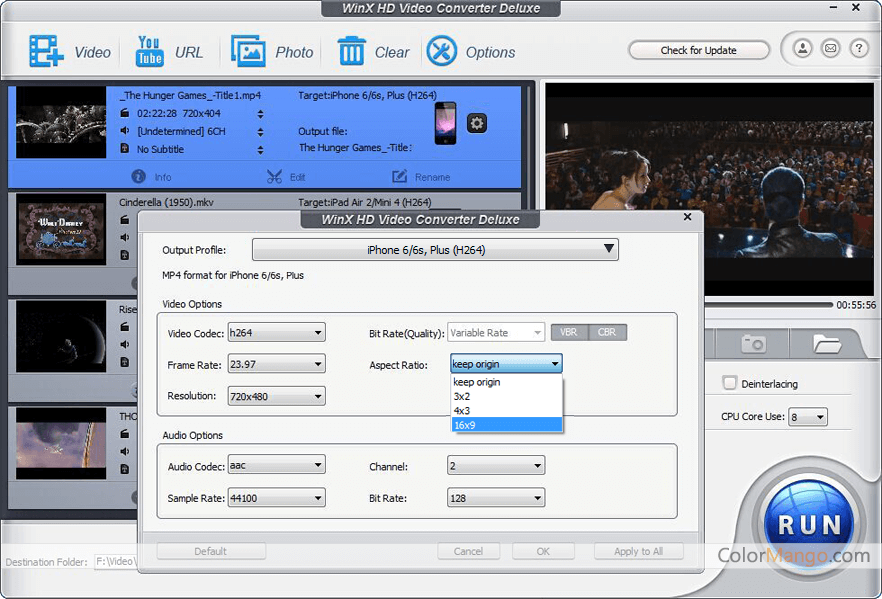 Digiarty winx hd video conv dlx v3 12 5 setup and patch