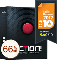 Action! - screen and game recorder Discount Coupon