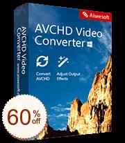 Aiseesoft AVCHD Converter Discount Coupon