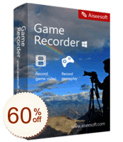 Aiseesoft Game Recorder Discount Coupon