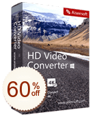 Aiseesoft HD Video Converter Discount Coupon