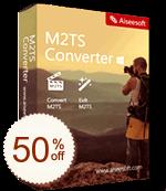 Aiseesoft M2TS Converter Discount Coupon